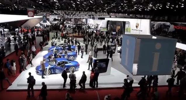 """Porsche nos muestra el Salón de París desde """"sus ojos"""""""