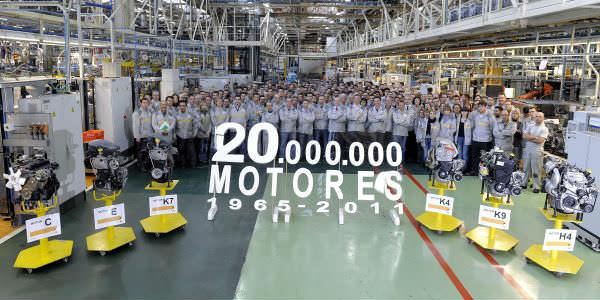 La sombra del ERE planea sobre la planta de Renault en Valladolid