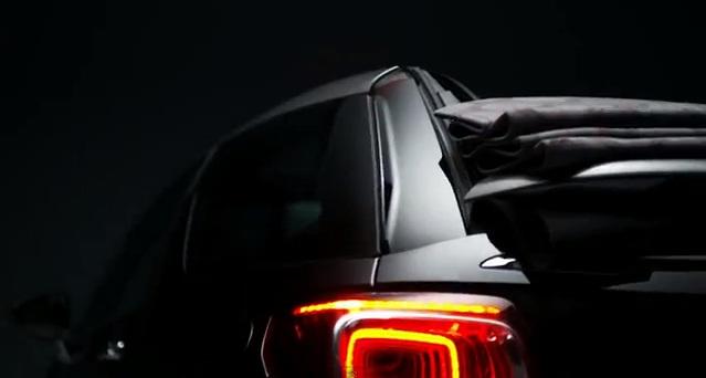 Citroën nos muestra el funcionamiento del techo de lona del nuevo DS3 Cabrio