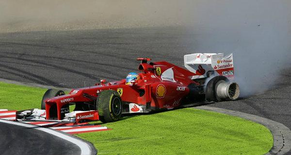 El accidente de Alonso en Japón, ¿fue provocado?