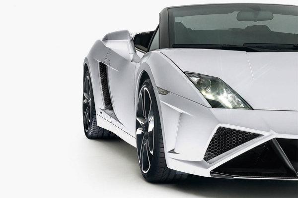 Y el restyling del Lamborghini Gallardo Spyder también está triste