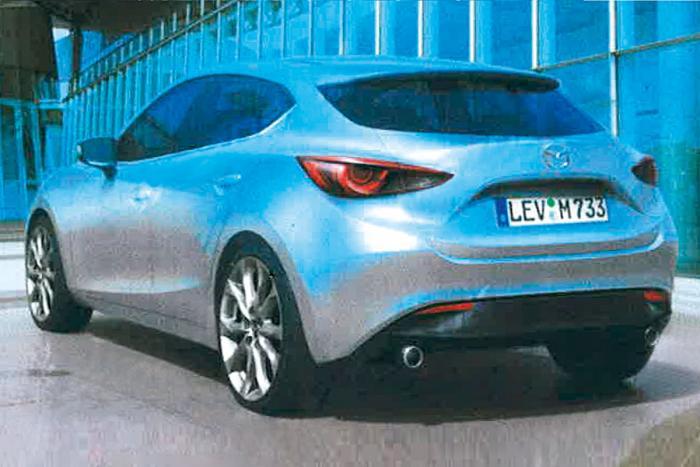 ¿Será éste el nuevo Mazda 3?