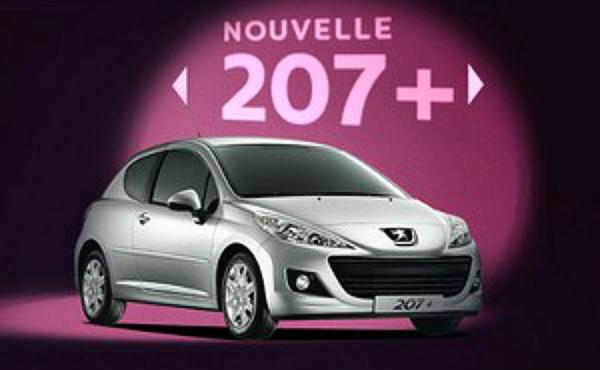 """""""Nuevo"""" Peugeot 207+"""