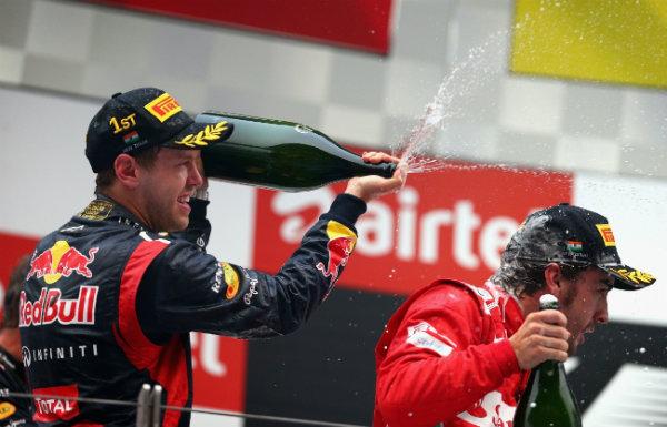 GP F1 India 2012: Vettel asesta el primer golpe por el título
