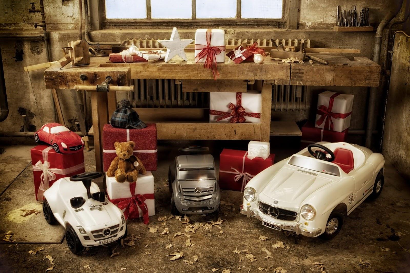 Mercedes-Benz vuelve a preparar un buen puñado de productos para Navidad