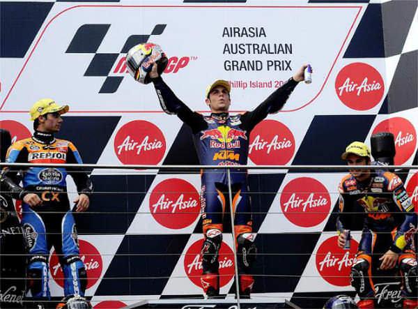 Sandro Cortese, campeón del mundo 2012 de Moto3