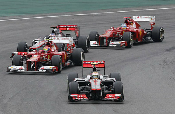 GP Brasil F1 2012: Button vence en Interlagos