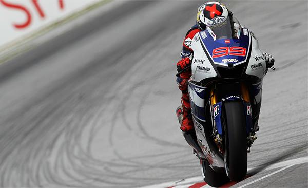 Jorge Lorenzo, campeón del mundo 2012 de MotoGP