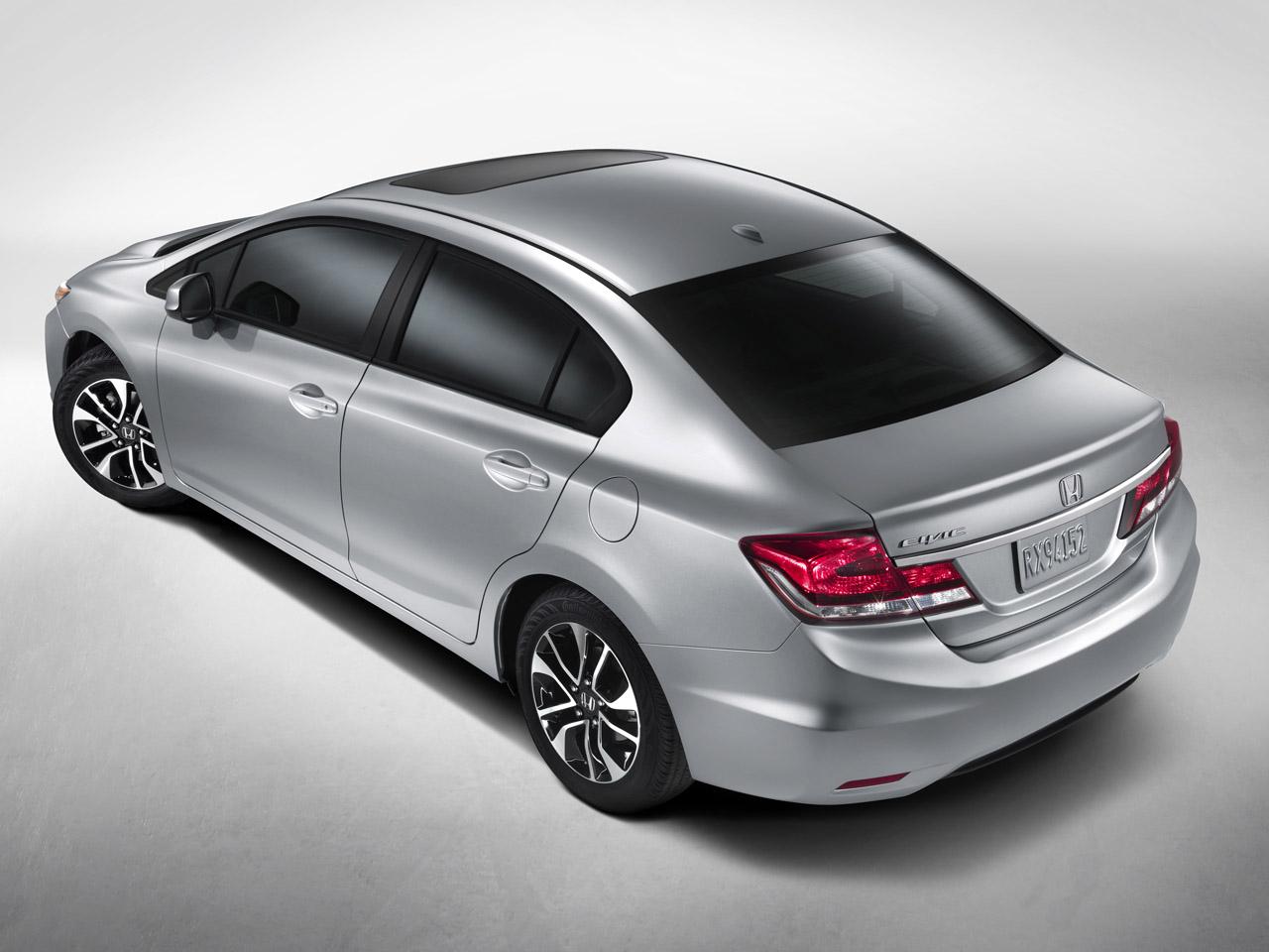 Honda actualiza el Civic en norteamérica para 2013