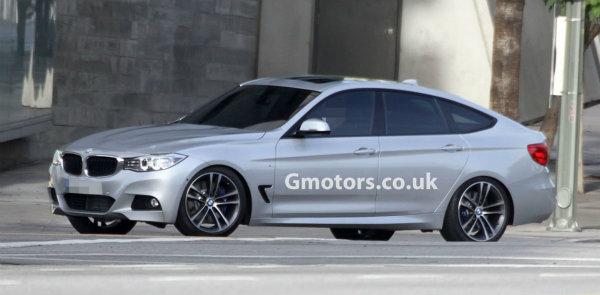 Cazado el BMW Serie 3 GT al desnudo