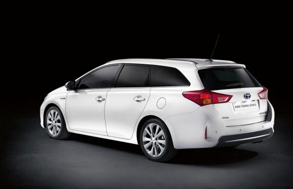 Toyota Auris Touring Sports, un buen diseño de serie