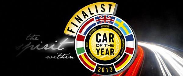 Ya están los candidatos al coche del año en europa 2013