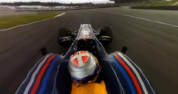 Alucinante vídeo de un Fórmula 1 en 360º