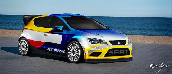 Imaginando un Seat León WRC