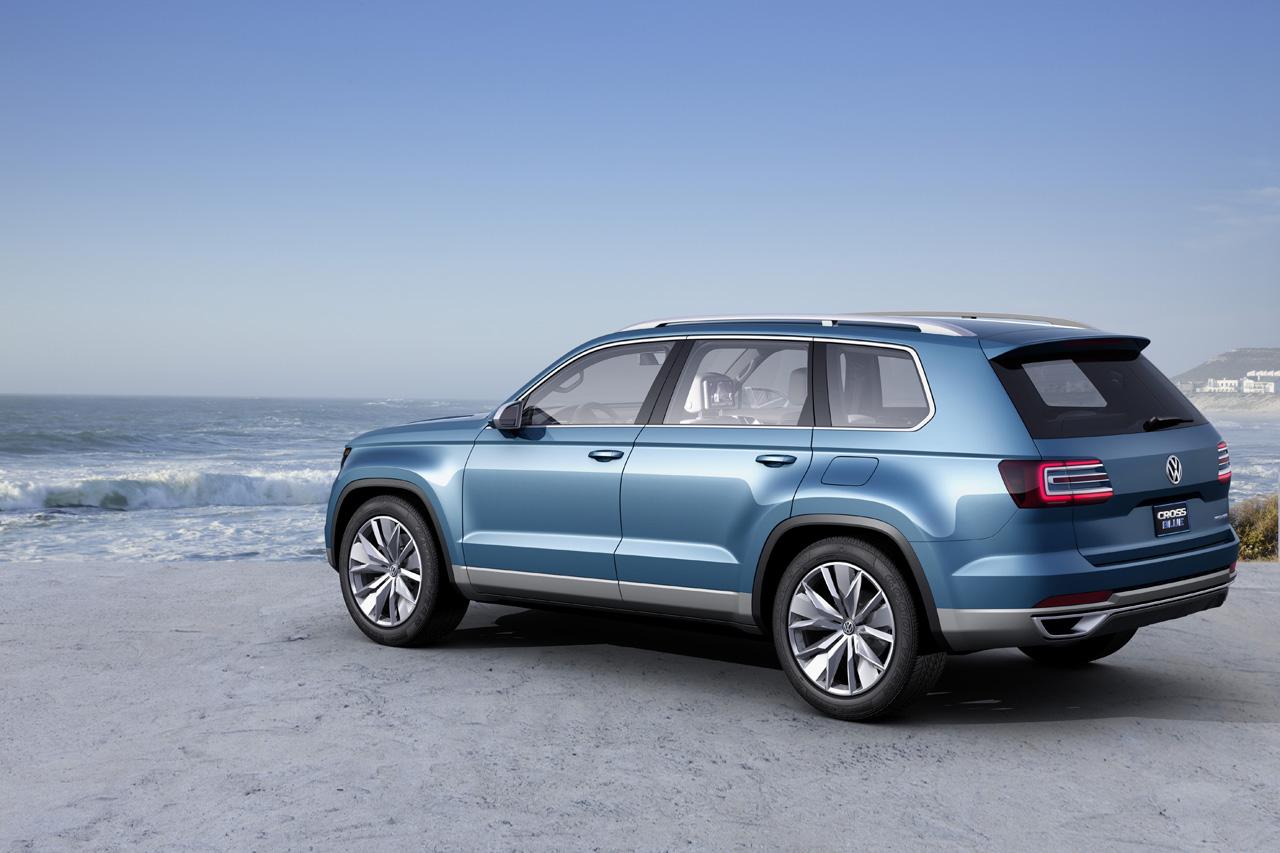 Volkswagen CrossBlue, para los que necesitan más de 5 plazas