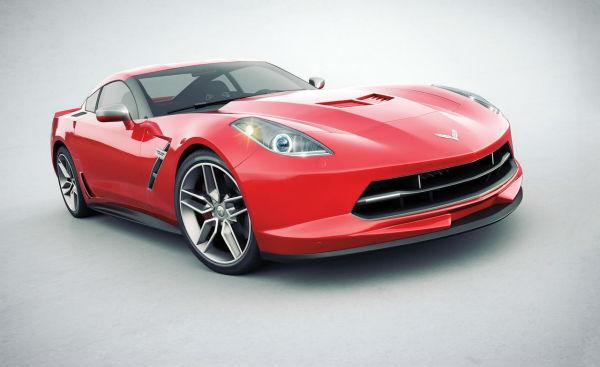 """Corvette C7 en renders """"cuasi"""" oficiales"""