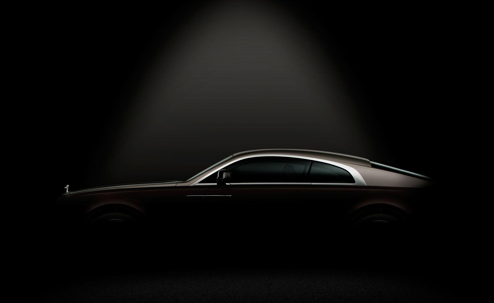 Rolls-Royce nos muestra la silueta de su próximo modelo