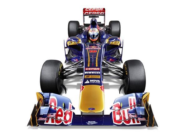 Los F1 de 2013: Toro Rosso STR8