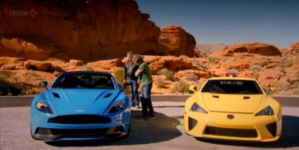 Especial EEUU en el segundo capítulo de la temporada 19 de Top Gear