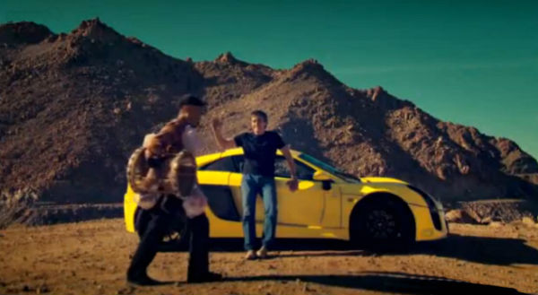 Hammond se juega la vida probando el Mastretta MXT en el cuarto capítulo de Top Gear