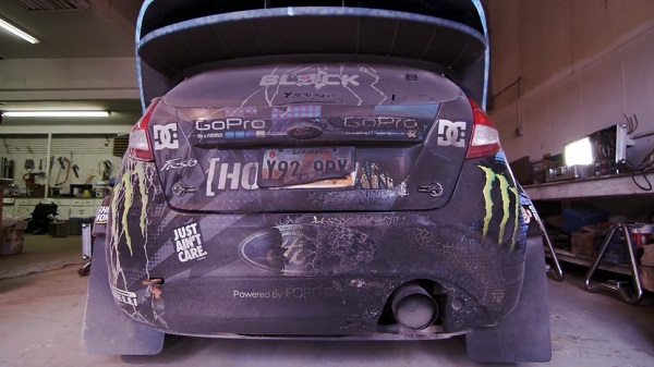 Ken Block quema otro Ford Fiesta