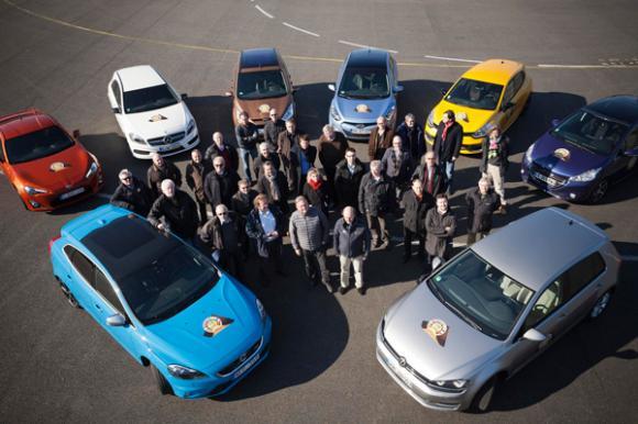 Y el coche del año 2013 es el Volkswagen Golf VII