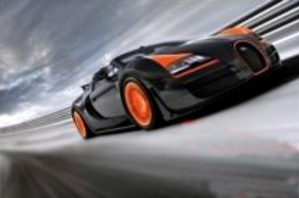 Cosas imposibles: cabalgar en unicornio y ver 4 Bugatti Veyron juntos