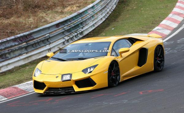 ¿Eres tú Lamborghini Aventador SV?