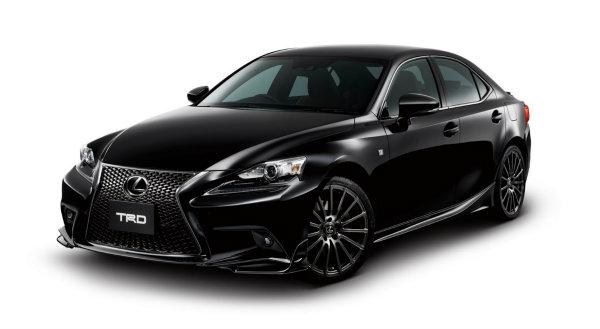 TRD quiere darle caña al Lexus IS F-Sport 2014