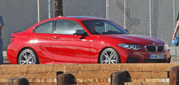 Nuevo BMW Serie 2 cazado al desnudo
