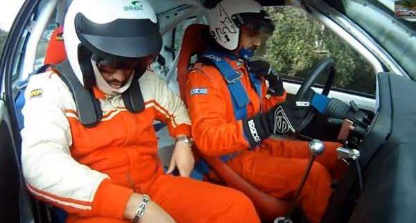El peor copiloto de rally de la historia