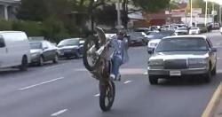 Ahorrando neumático delantero
