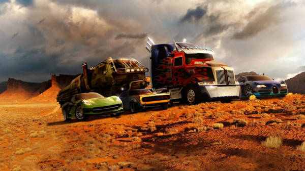Los coches de Transformers 4