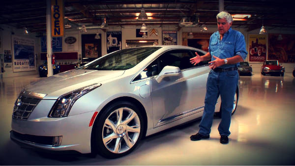 Jay Leno prueba el Cadillac ELR