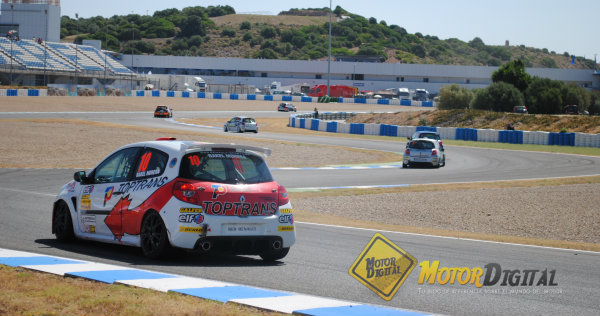Así fue la Clio Cup este pasado fin de semana en Jerez