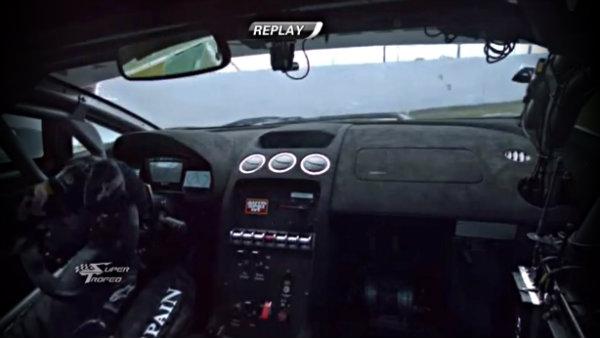 Adrian Newey sufre un accidente en la Lamborghini SuperTrofeo