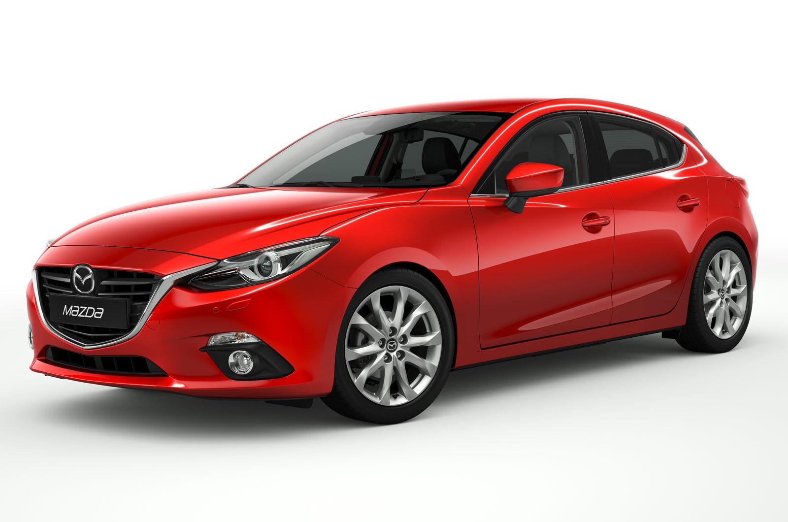Mazda tiene un nuevo sistema de faros adaptativos