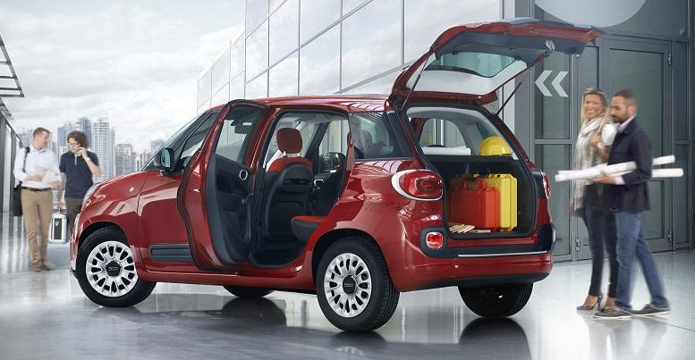 Fiat lanza en Italia el 500 L Pro