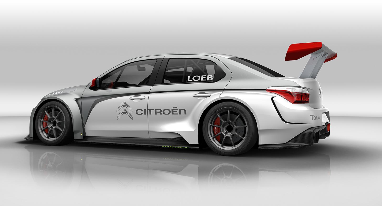 Citroën nos muestra su C-Elysée para WTCC