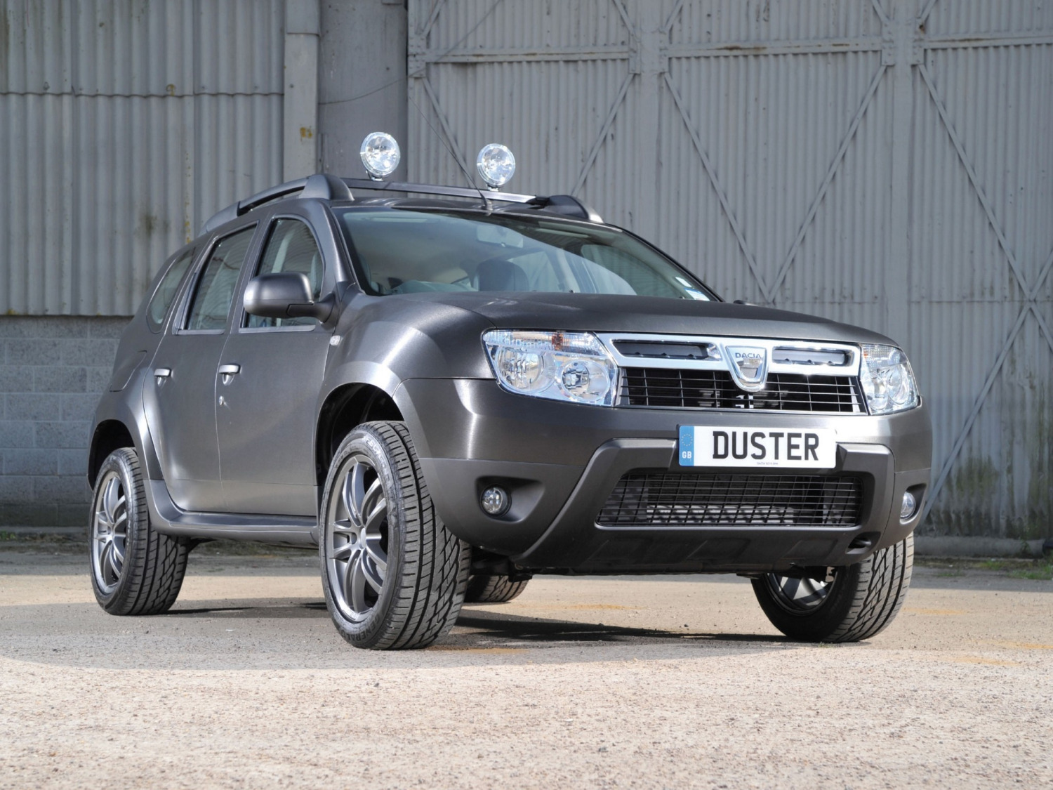 "Dacia Duster ""Black Edition"", sólo para UK"
