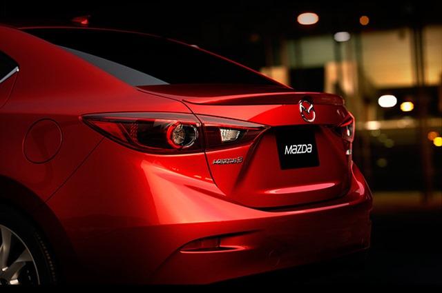 ¿Es ésta la primera imagen del nuevo Mazda 3 Sedán?