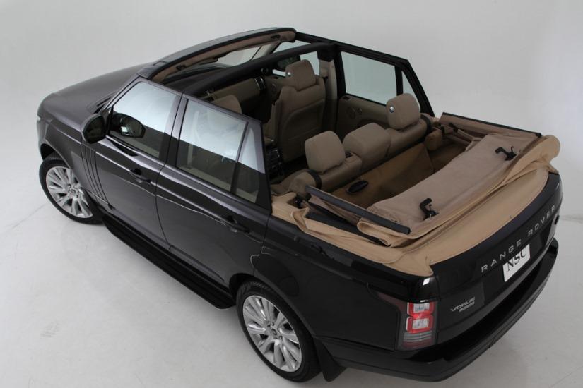 NCE descapota al Range Rover