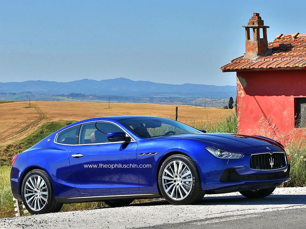Imaginando un Maserati Ghibli Coupe