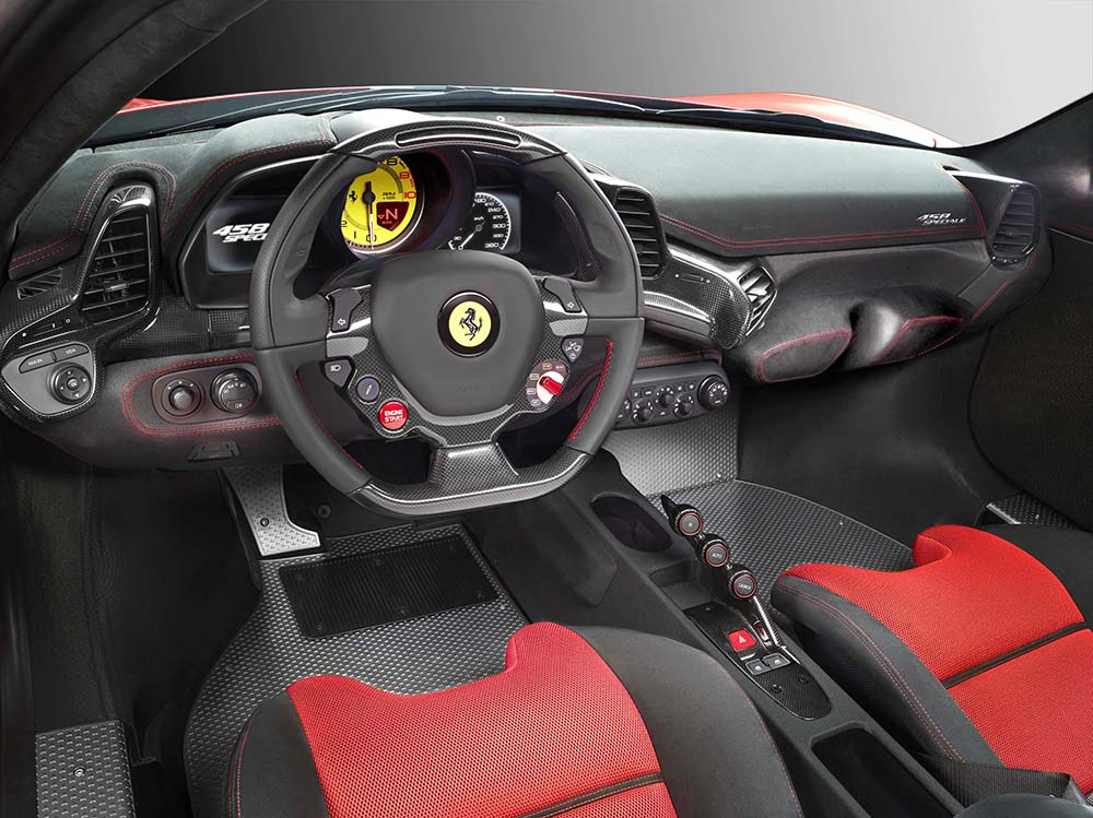 Ferrari 458 Speciale, un 458 con mejores cifras y una aerodinámica más cuidada