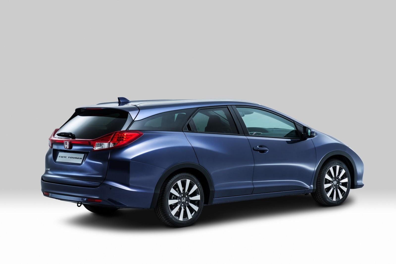 Honda presenta oficialmente el nuevo Civic Tourer