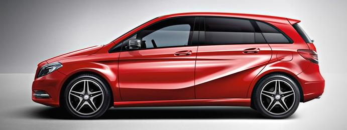 El Mercedes-Benz Clase B Sport, el pequeño monovolumen se vuelve más seductor