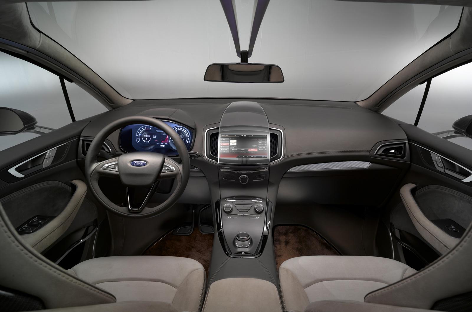 Ford adelanta el nuevo S-Max en Frankfurt