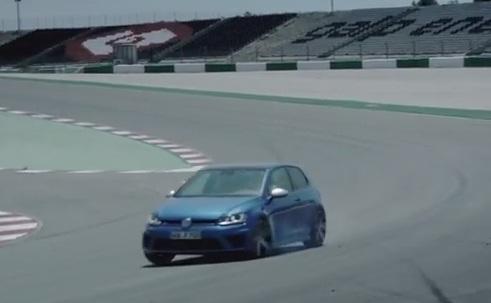 Así actúa el nuevo Golf R en un circuito