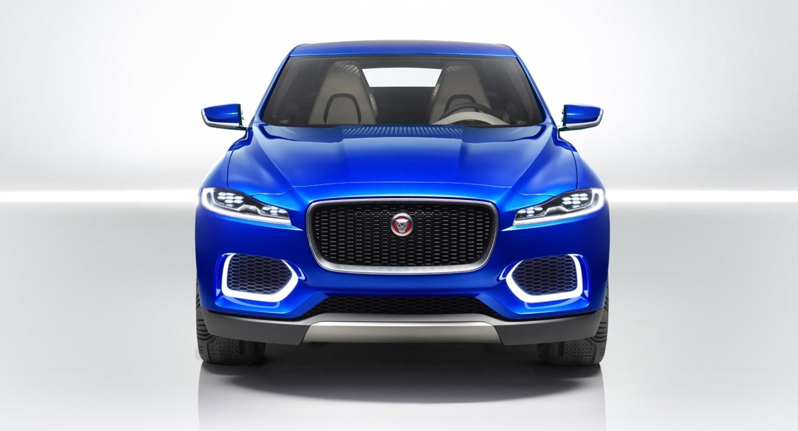 Jaguar muestra el frontal de su primer SUV