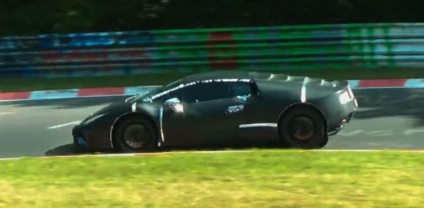 Vídeo del sucesor del Gallardo, el Lamborghini Cabrera